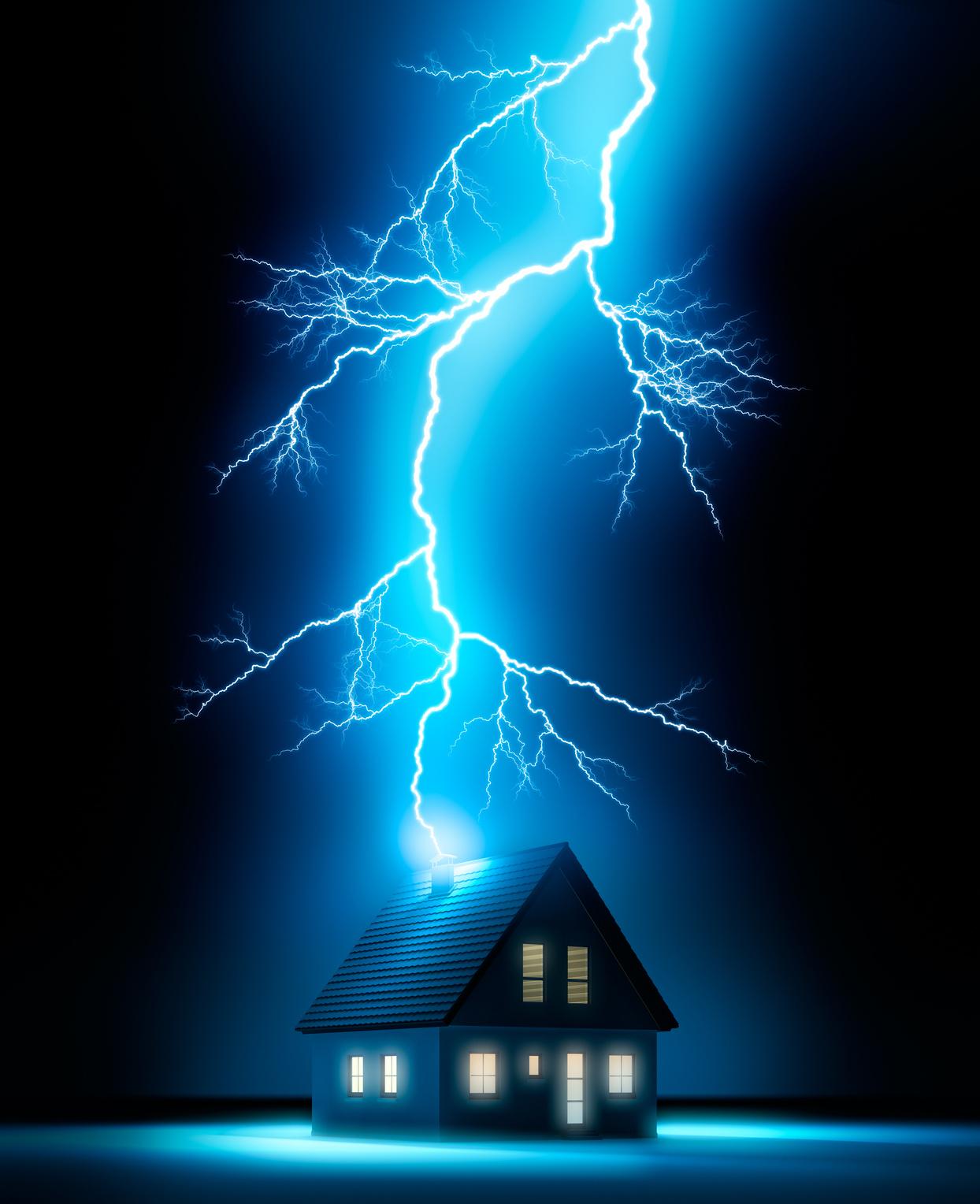 berspannungsschutz im eigenheim achtung blitzschlag hohenberger elektro gmbh. Black Bedroom Furniture Sets. Home Design Ideas